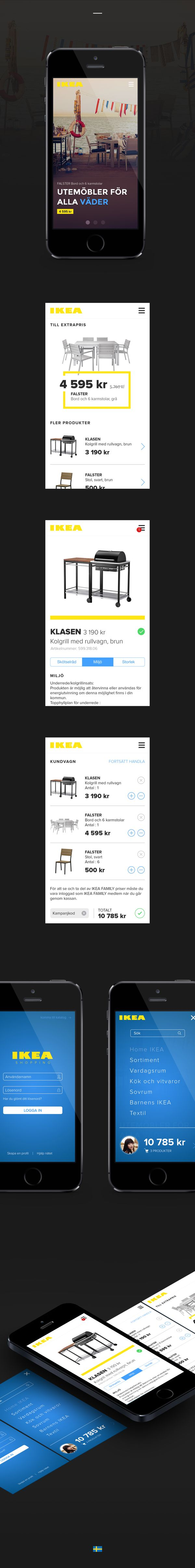 IKEA Mobile App Redesign Concept on Behance