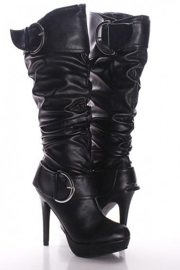 Best 25 High Heel Boots Ideas On Pinterest Cheap Black