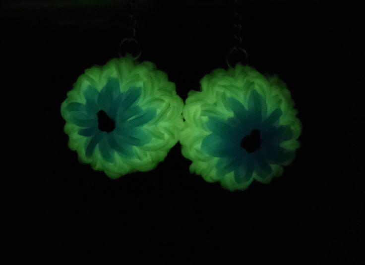 3D Mini Eyeball - Rainbow Loom Earrings (Part 1) | How to
