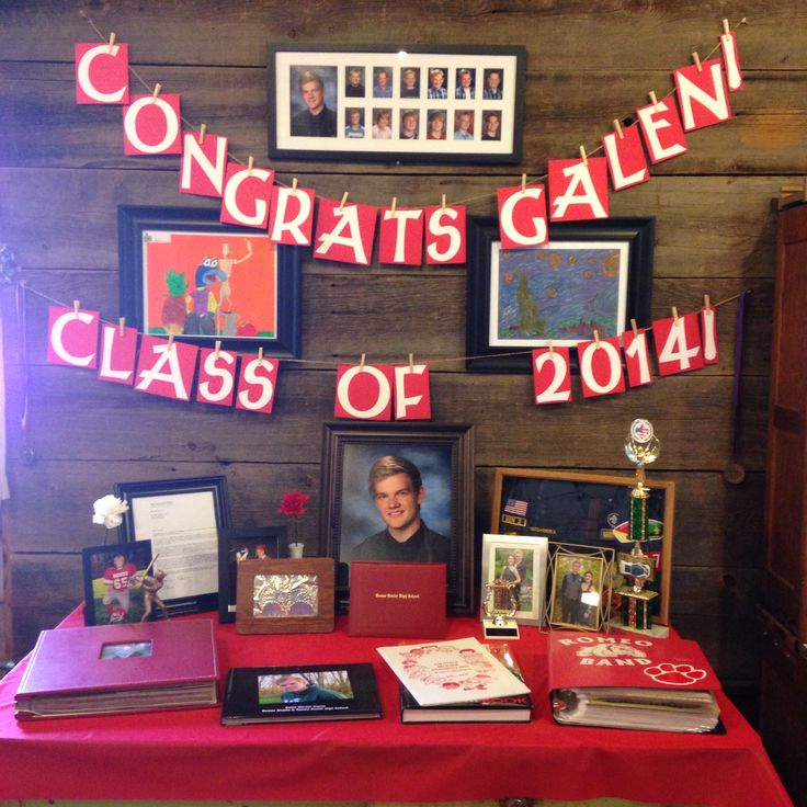 Wall decorations for graduation party : Unique graduation banner ideas on photo