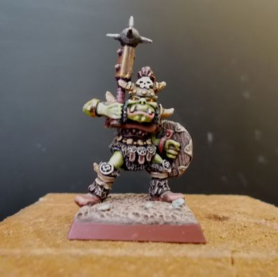 Freak Brush: Orc Champion from the past