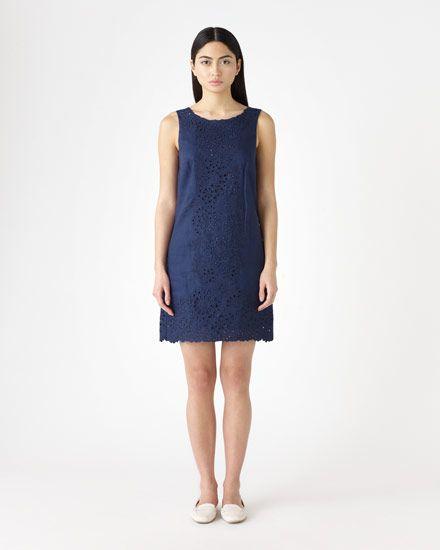 Flower Linen Dress