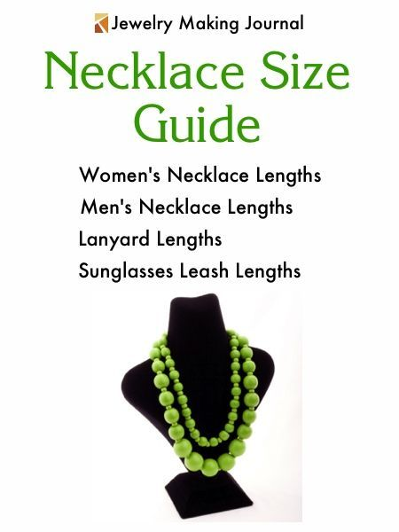 Necklace Size Chart | Necklace Size Guide | Necklace Lengths | Necklace Length Chart
