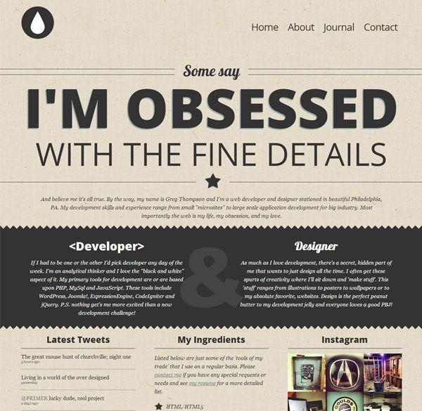 Graphic Design Portfolio Pinterest