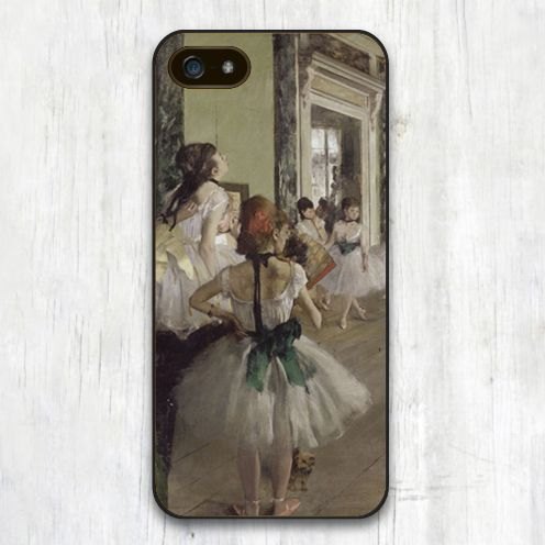 The Ballet Class Edgar Degas Printed Soft TPU Black Skin Moile Phone Case For iPhone 6 6S Plus 5 5S 5C 4 4S Back Shell Cover Digital Guru Shop