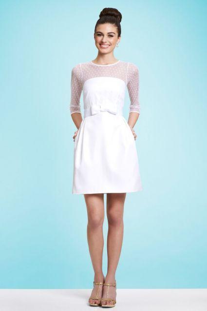Krótkie sukienki ślubne z kolekcji Kirribilla [Zdjęcia]