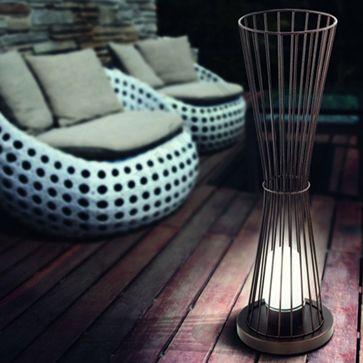 Mais de 1000 ideias sobre lampadaire exterieur no for Applique murale exterieur eglo