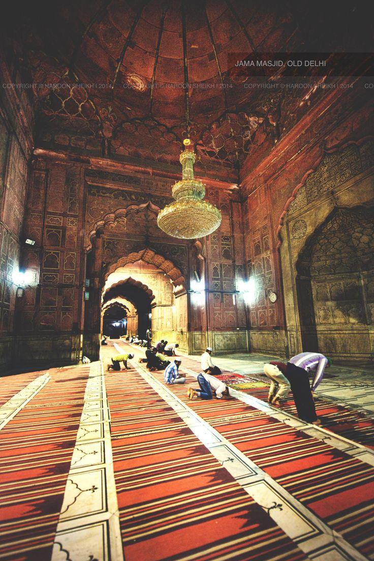 Jama Masjid - Old Delhi, India