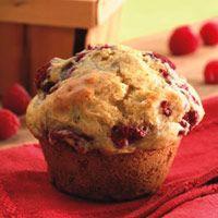 Healthy: Lemon Rasberry Muffins