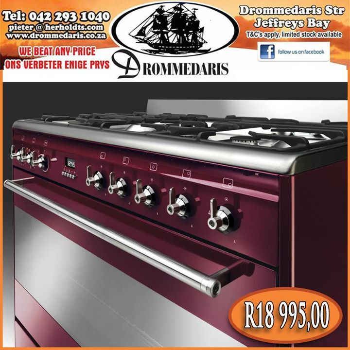 Visit Drommedaris in store or online and purchase this stunning Smeg oven. By purchasing this Smeg product you automatically enter the draw to win a home make over to the value of R40 000,00 and delivery is free! Click here to read about the features this item offers, http://apost.link/2Sw.  #appliances #lifestyle #drommedaris