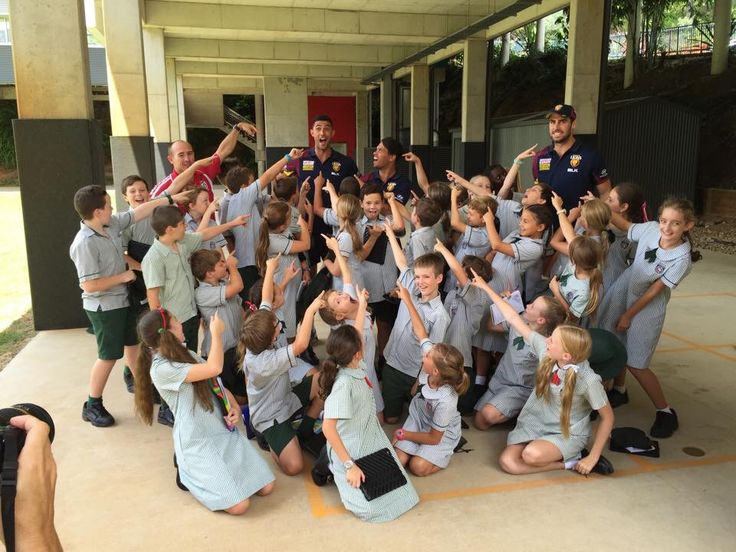 #CommunityCamp kids across the Coast were pumped to have the Lions in town