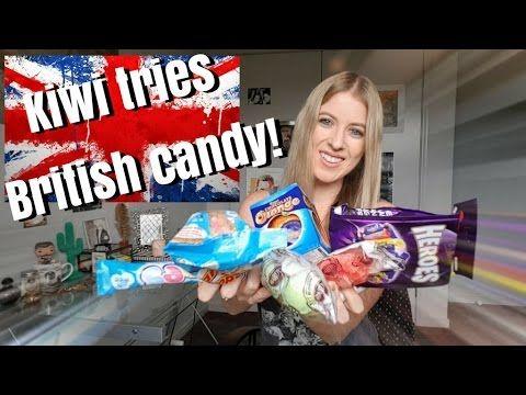 Kiwi tries British candy!