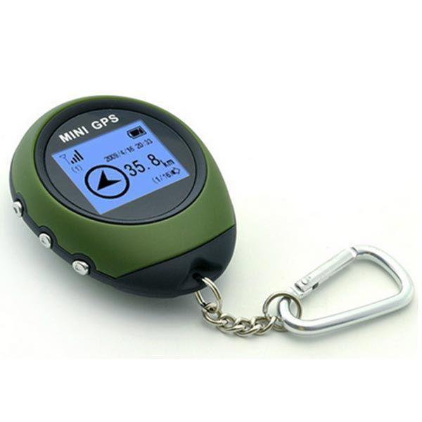 Camping Hiking Cycling Mini USB GPS Keychain Locator Navigator
