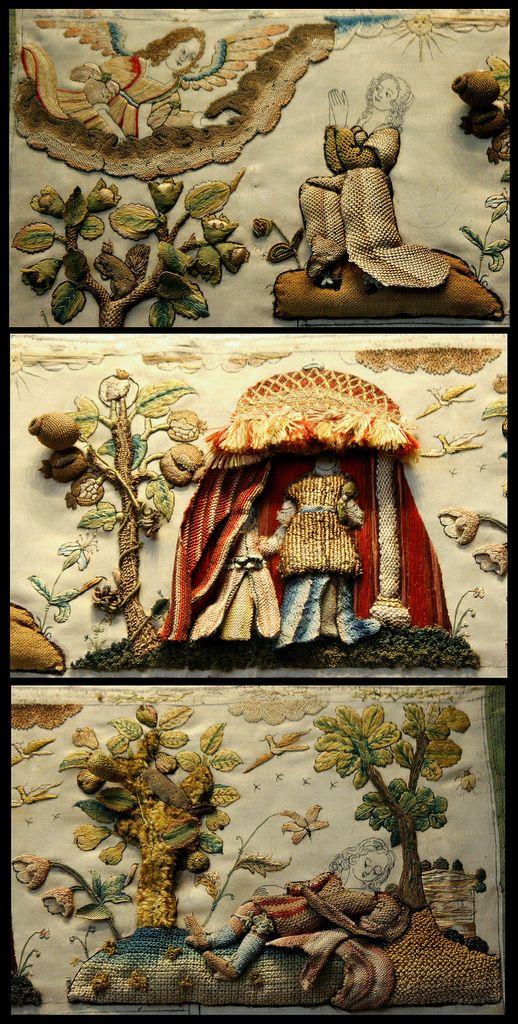 17th century stumpwork