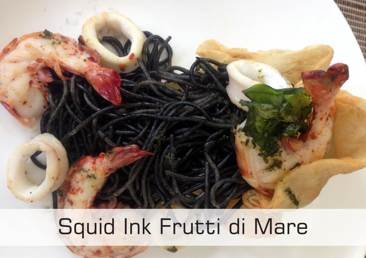SQUID INK FRUTTI DE MARE only at IDR. 124.000++