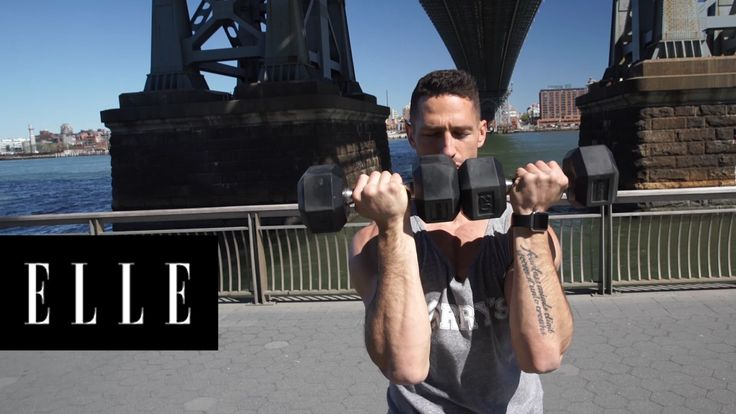 3 Simple Moves For Super Lean Arms: Celebrity Fitness Trainer Noah Neiman takes us through the best arm exercises for lean arms.