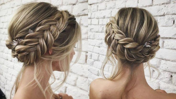 Hair and Braid - Umgekehrte Herstellung von geflochtenen Brötchen