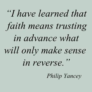 faith means....