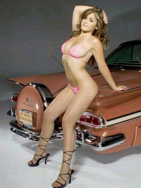 Nude lowrider model pics with you