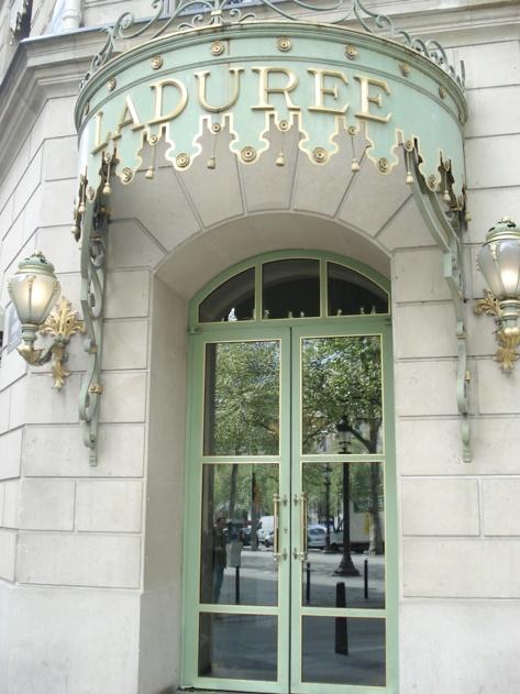 The doors of Paris - Ladurée