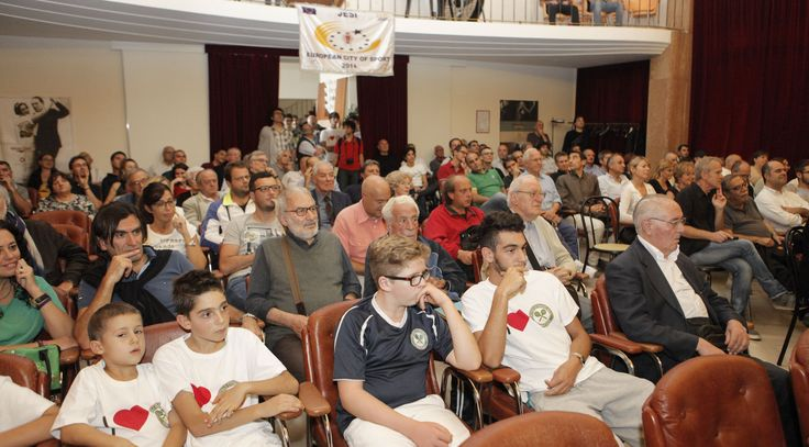 #jesicittaeuropeadellosport2014 - 11 Ottobre - Gianni Clerici racconta la storia del tennis