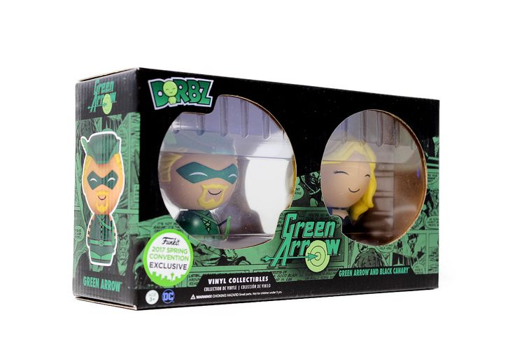 DORBZ: Green Arrow & Black Canary 2 Pack
