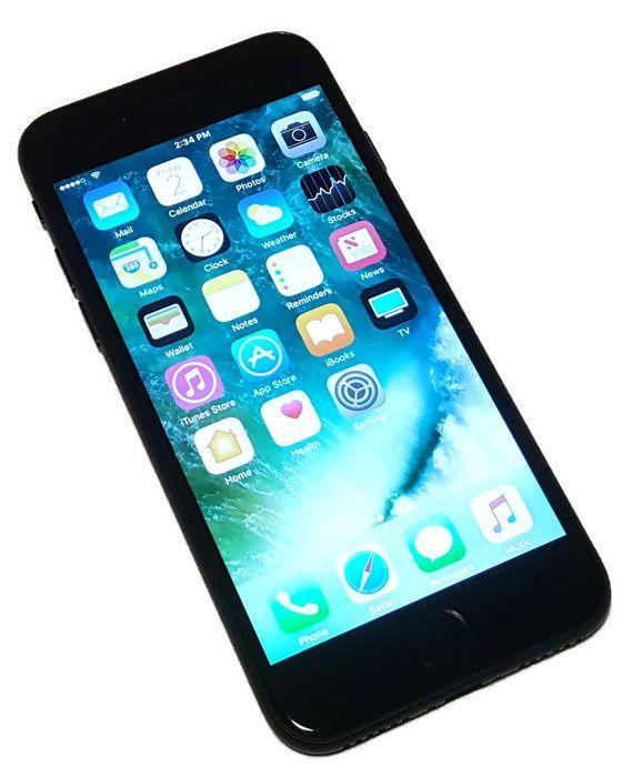 US Cellular Apple iPhone 7 Black 32GB Clean ESN Smartphone A1660 IOS Phone #2468 #Apple #Smartphone