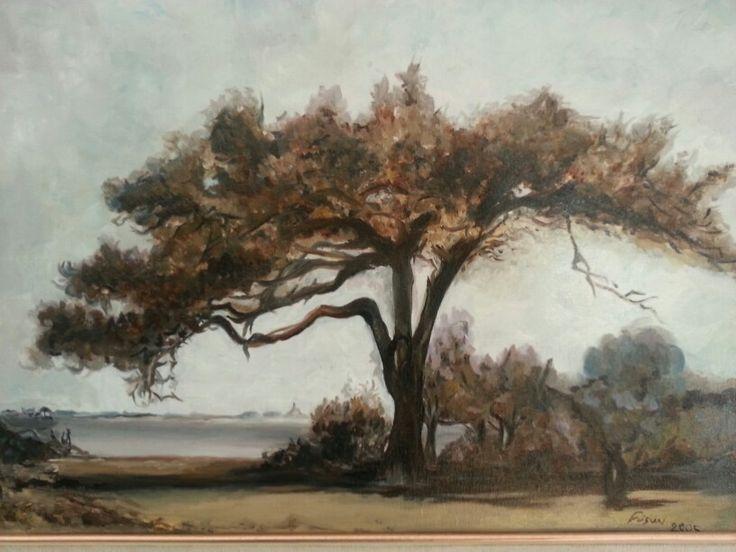 Oil on canvas -Fusun Ogreten