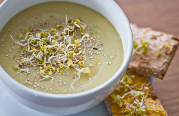 Linsensuppe   vegane Rezepte in Suppen