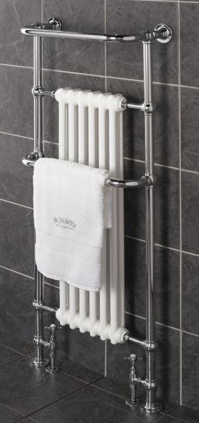 tall heated towel rail  St.James England