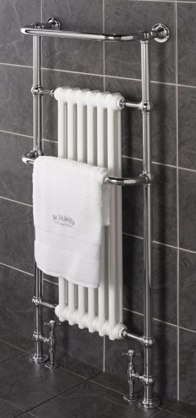 tall heated towel rail  St.James England