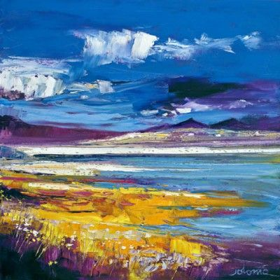 John Lowrie Morrison (Jolomo) - Evening Light, Luskentyre