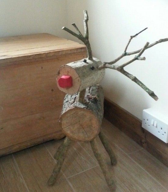 Log Reindeers | The WHOot