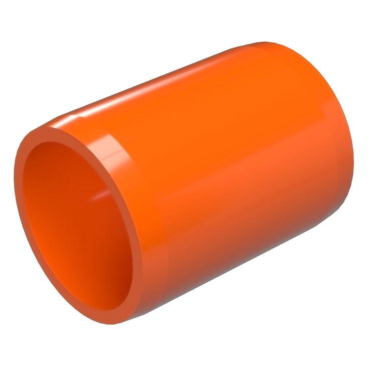 "1-1/4"" External PVC Coupling - Furniture Grade"