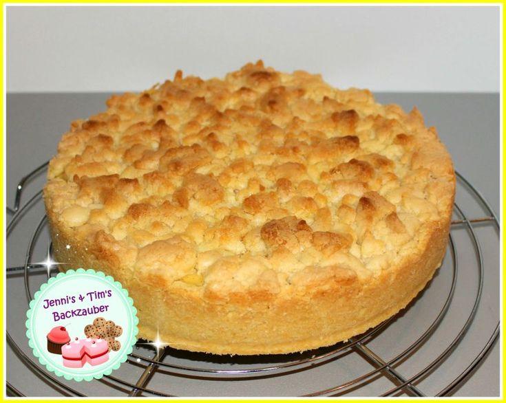 Pudding-Streuselkuchen – Jennis Backzauber   – Backen