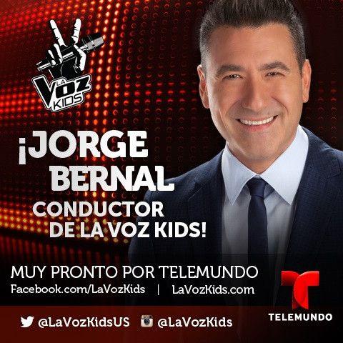 ATENCIÓN: @Jorge Bernal se une a @Sara Fuentes como CONDUCTOR de #LVK. Glad to have you #MrCheckitout.