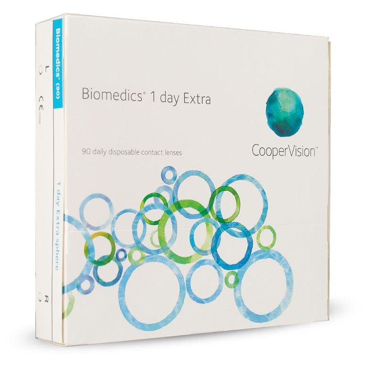 Biomedics 1 Day Extra  fra Lensstore. Om denne nettbutikken: http://nettbutikknytt.no/lensstore/