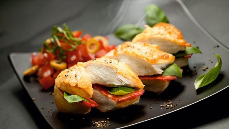 Kurczak z Chorizo i serem Manchego