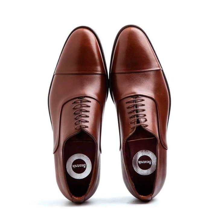 ceremony brown cap toe oxford shoes for men dress shoes men