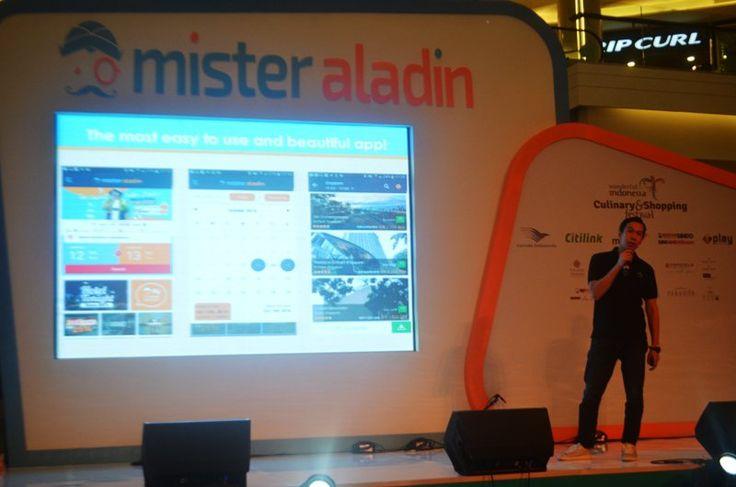 Mister Aladin Travel Fair tebar pesona di Kasablanka Jakarta