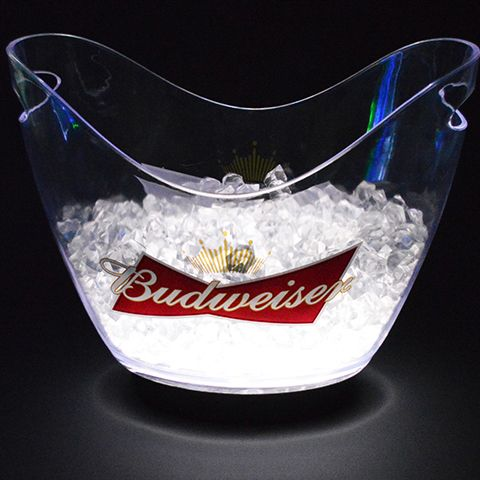 bucket novelty led bowl party bhp super lbwlpa tailgate tub my teal lights submersible ebay ice
