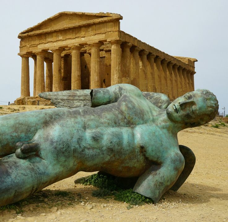 Concordia tempel bij Agrigento