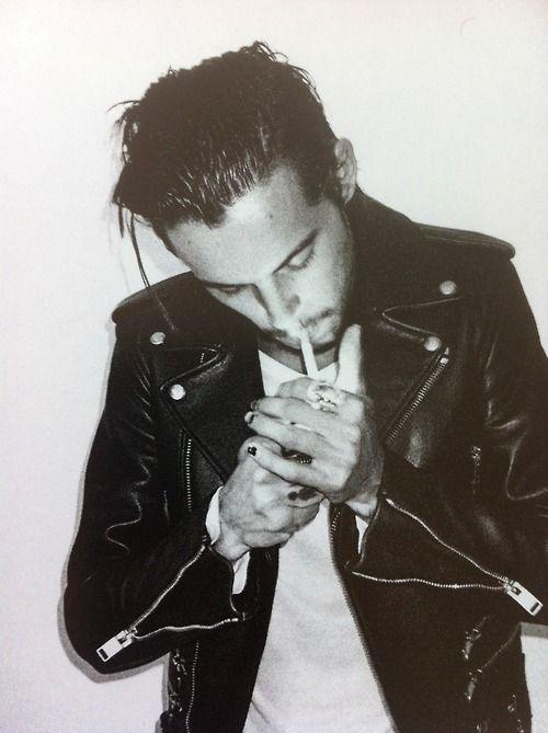 Dylan Rieder Leather Jacket   Menswear