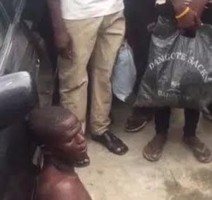 ASSASSIN CAUGHT TRYING TO STRANGLE WOMAN IN LAGOS