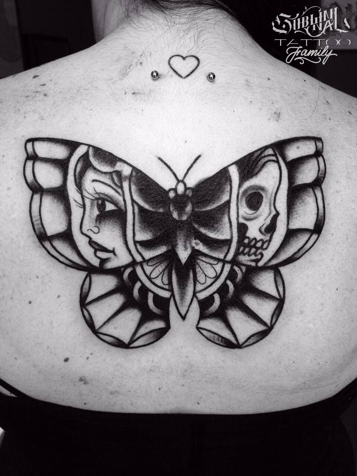 tatuaggi-old-school-falena-subliminal-tattoo-family-tattoo-studio-monza-milano.jpg (720×960)