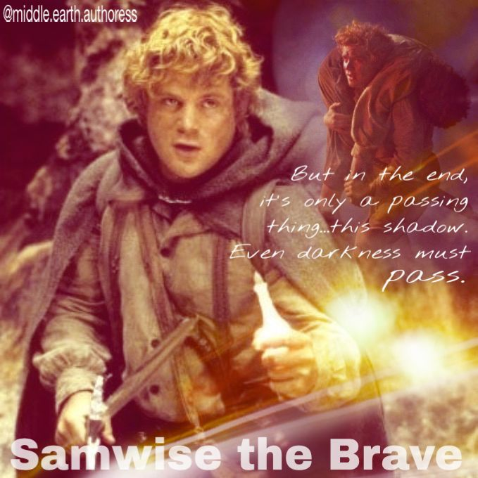 Samwise~ My Favorite Hobbit.  Nobody can beat Sam.: