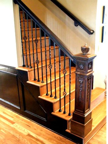 Best 27 Best Railing Spindles And Newel Posts For Stairs 640 x 480