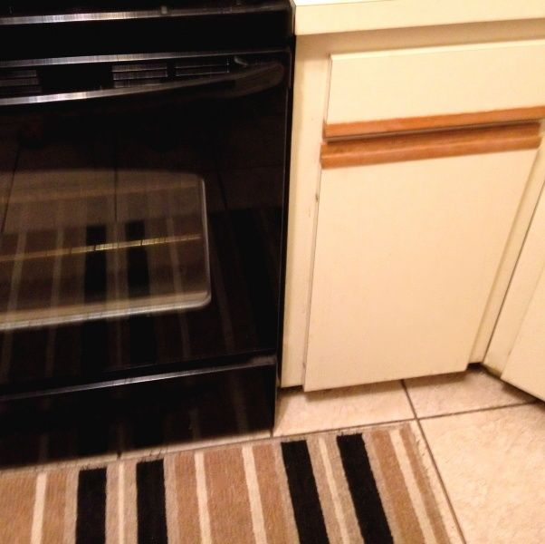 Redo Ugly 80s Oak-trim Laminate Kitchen Cabinets For Under $50.! Paint In A Satin Finish, A Good