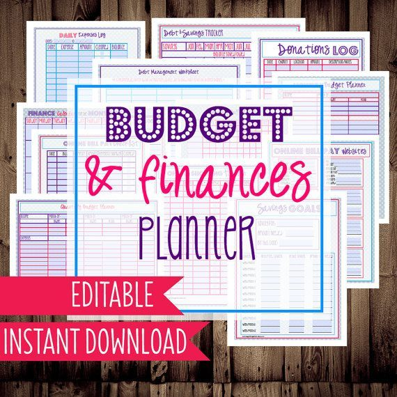 25+ unique Family budget planner ideas on Pinterest Budget - free printable budget planner