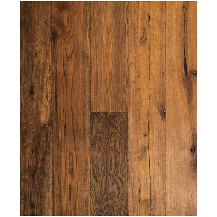Chicago Oak 5 8 Thick X 7 1 2 Wide X 72 Length Engineered Hardwood Flooring Hardwood Floors Oak Wood Floors Engineered Hardwood Flooring